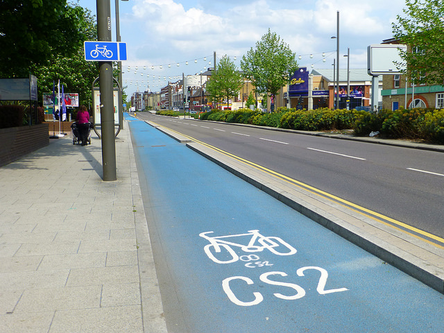 Cycle Superhighway 2, London