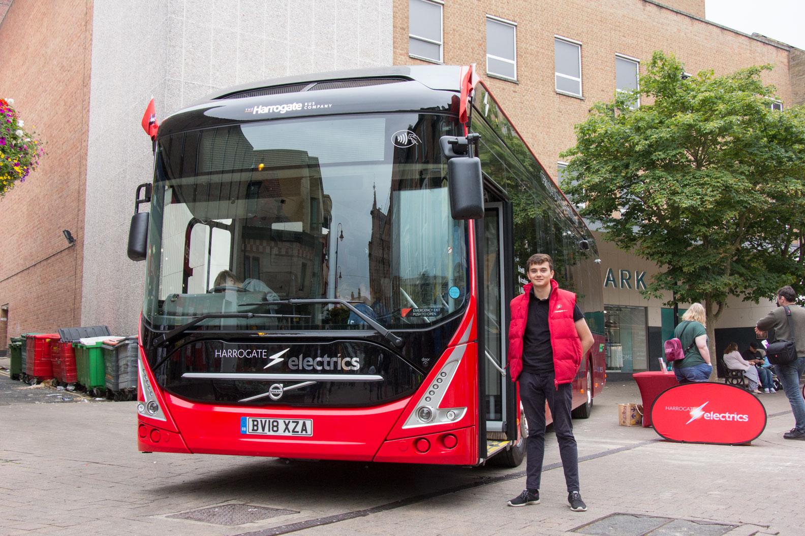 Electric Buses Harrogate