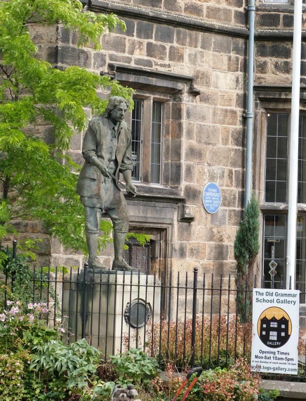 Statue of Thomas Chippendale in Otley