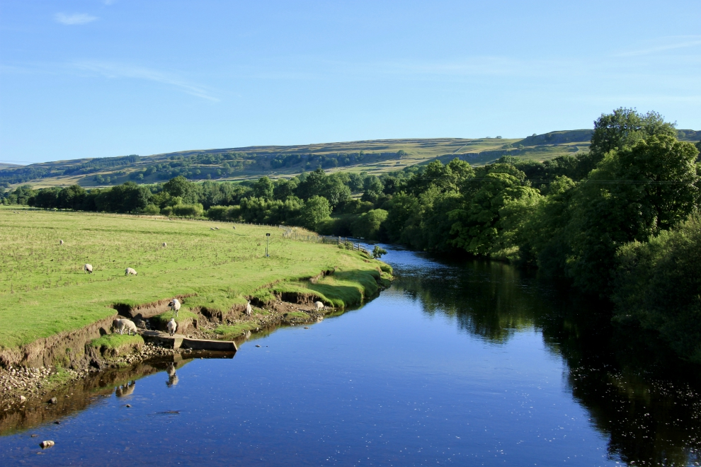 River Wharfe at Conistone