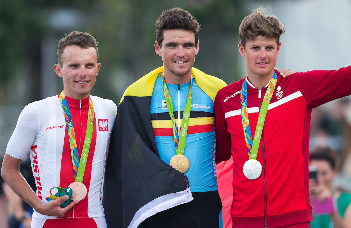 Van Avermaet, Olympic podium