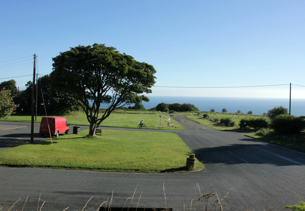 View from Ravenscar Station