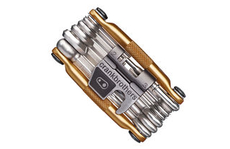 Crank Brothers gold multi-tool