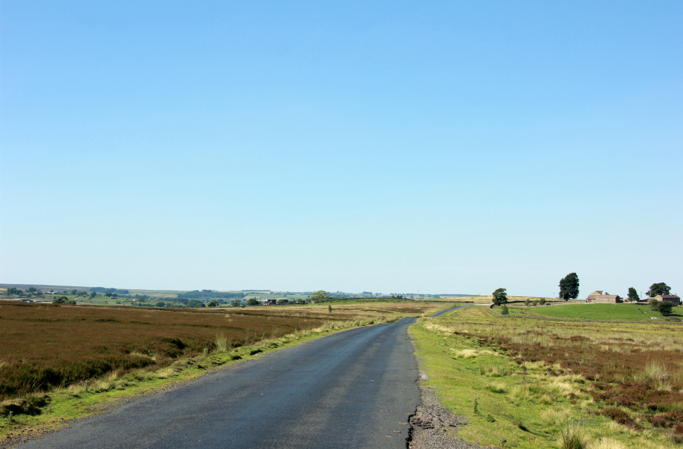 Road across Dallow Moor