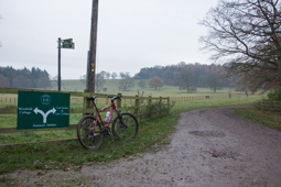 Track on Eccup & Harewood mountain bike ride