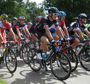 Geraint Thomas during the Tour de France 2014