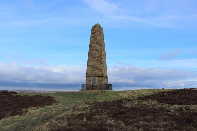 Captain Cook's Monument, Easby Moor