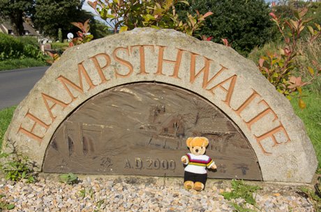 World Champion bear at Hampsthwaite