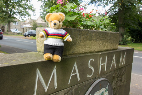 World Champion bear in Masham