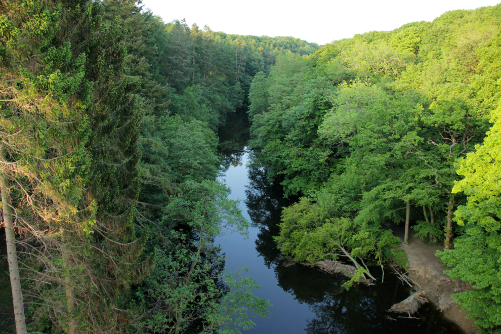View from the Nidd Viaduct