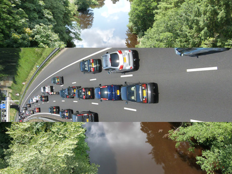 What a major road across the Nidd Gorge may look like
