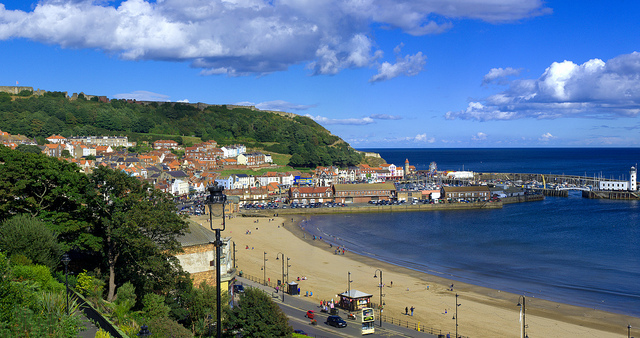 Scarborough South Sands and Harbour