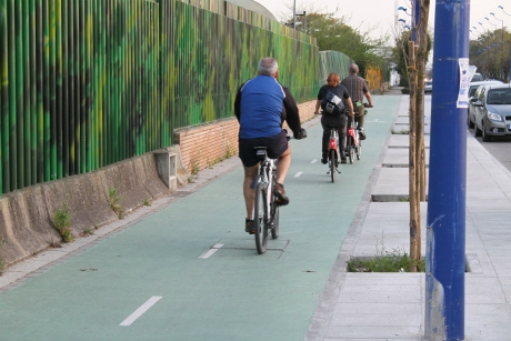 Bike lane, Seville