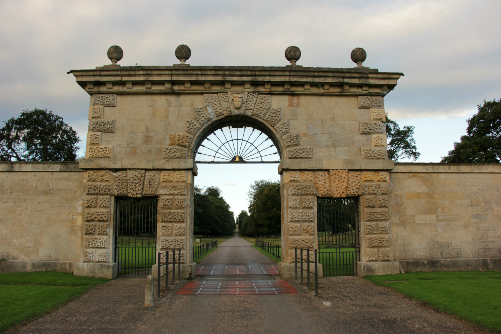 Arch at entrance to Deer Park, Studley Royal