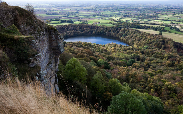 Goremire Lake from Sutton Bank