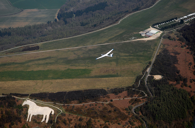 Sutton Bank White Horse and Yorkshire Gliding Club