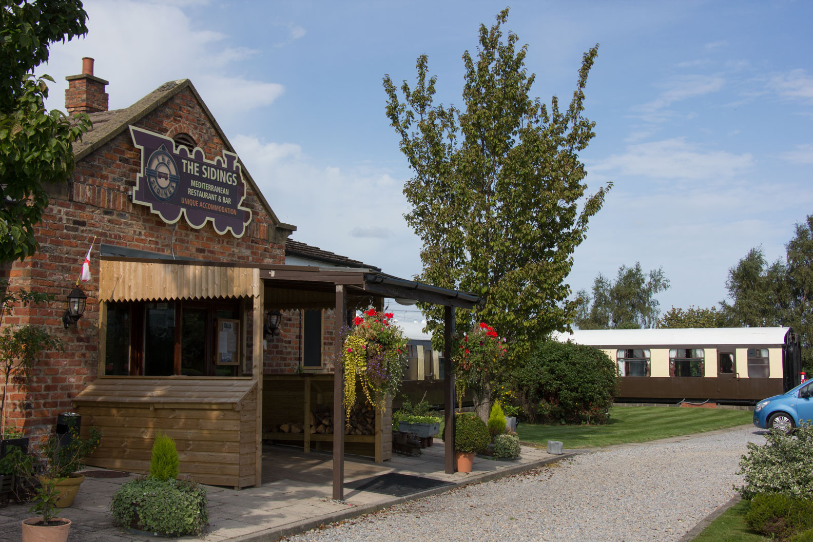 The Sidings hotel and restaurant