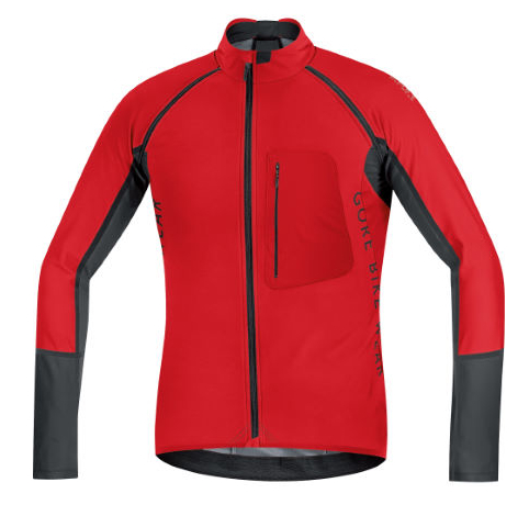 Gore Bike Wear Alp-X Windstopper Softshell Zip-off Jacket